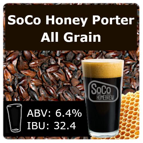 SoCo Honey Porter - All Grain