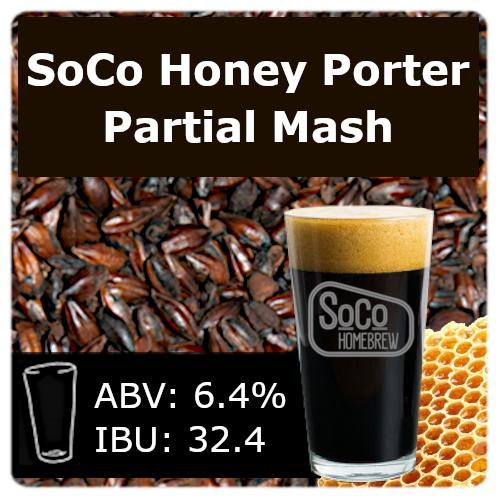 SoCo Honey Porter - Partial Mash