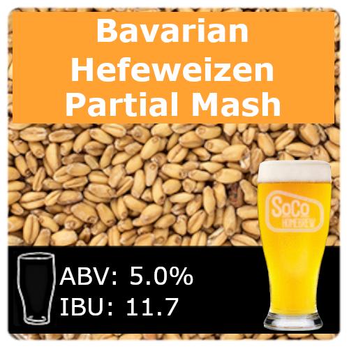 SoCo Bavarian Hefeweizen - Partial Mash