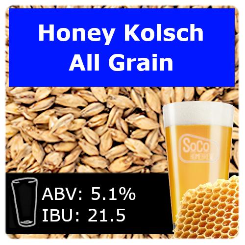 SoCo Honey Kolsch - All Grain