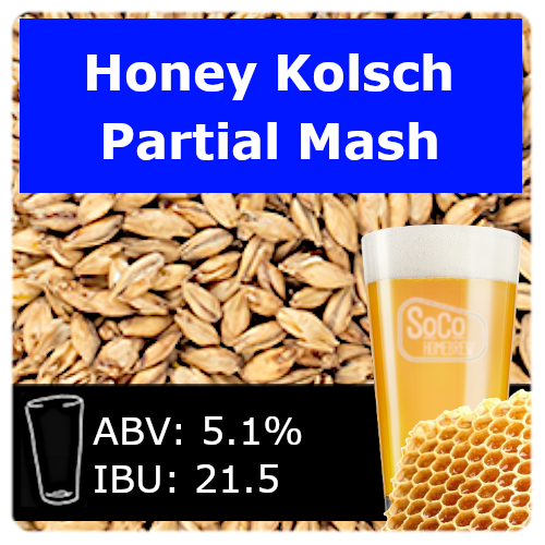 SoCo Honey Kolsch - Partial Mash