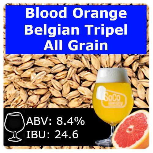 SoCo Blood Orange Belgian Tripel - All Grain