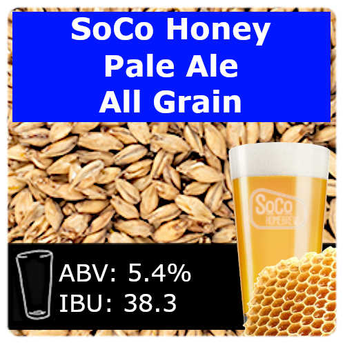 SoCo Honey Pale Ale - All Grain