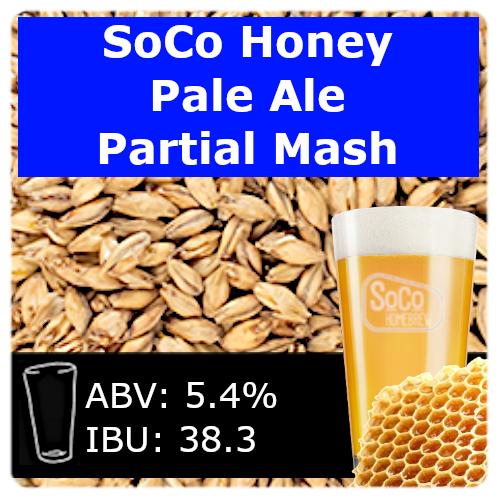 SoCo Honey Pale Ale - Partial Mash