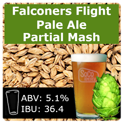 SoCo Falconer's Flight Pale Ale - Partial Mash