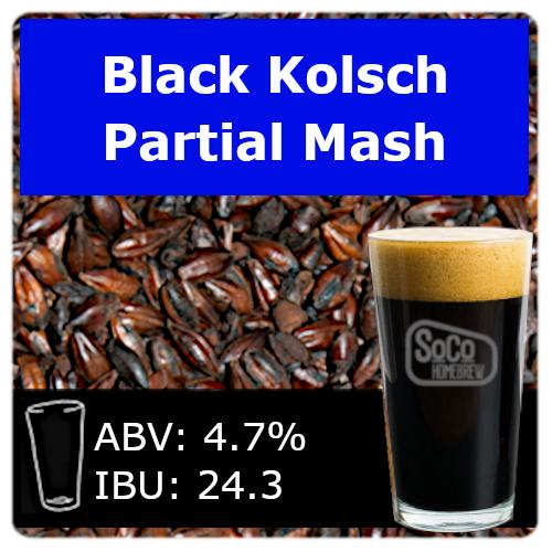 SoCo Black Kolsch - Partial Mash