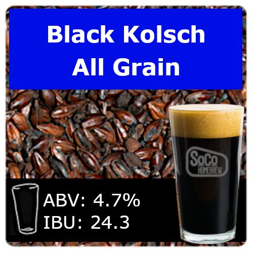 SoCo Black Kolsch - All Grain