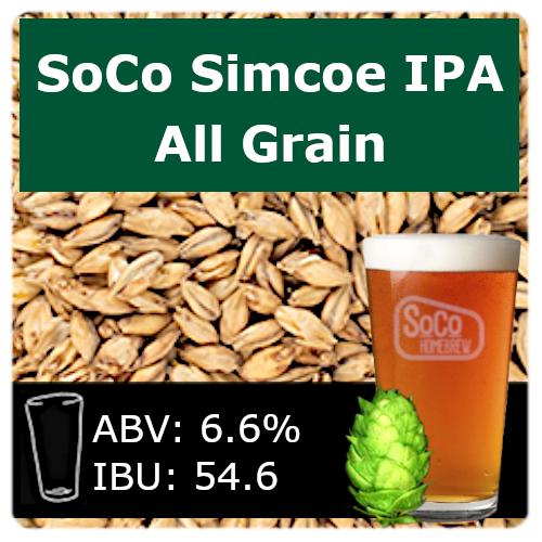 SoCo Simcoe IPA - All Grain