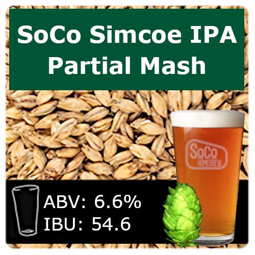 SoCo Simcoe IPA - Partial Mash
