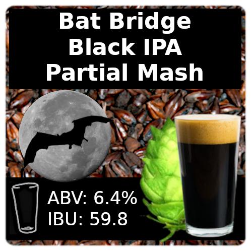 SoCo - Bat Bridge Black IPA - Partial Mash