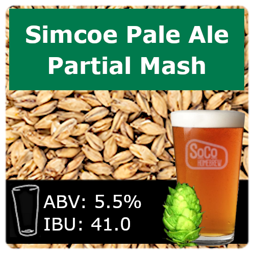 SoCo Simcoe Pale Ale - Partial Mash