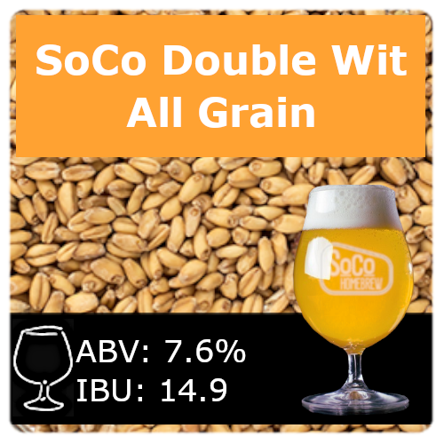 SoCo Double Wit - All Grain