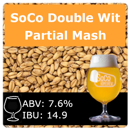 SoCo Double Wit - Partial Mash