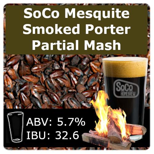 SoCo Mesquite Smoked Porter - Partial Mash