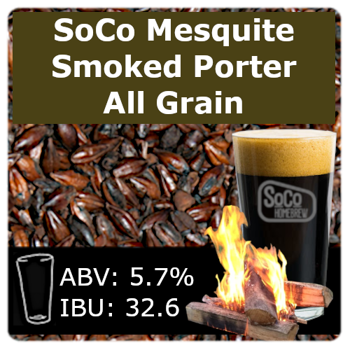 SoCo Mesquite Smoked Porter - All Grain