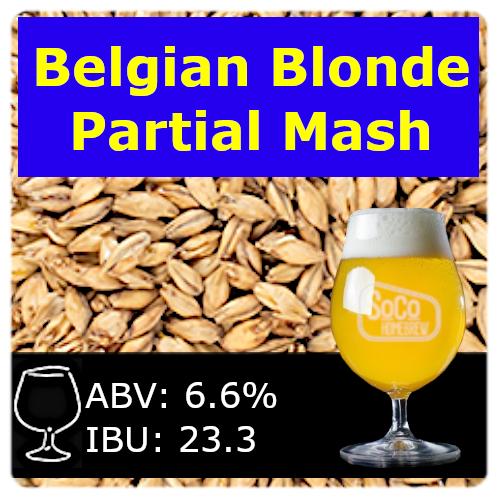 SoCo - Belgian Blonde - Partial Mash