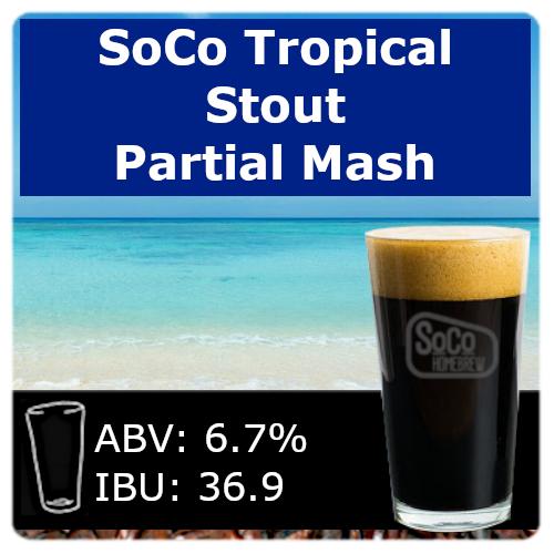 SoCo Tropical Stout - Partial Mash