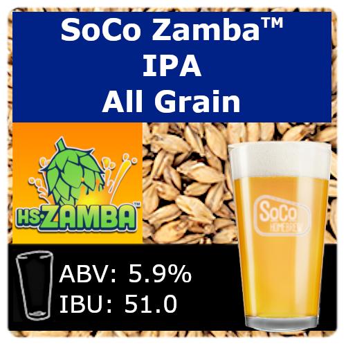 SoCo Zamba™ IPA - All Grain