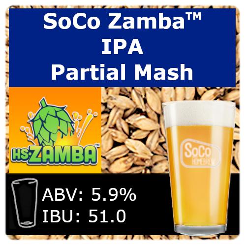 SoCo Zamba™ IPA - Partial Mash