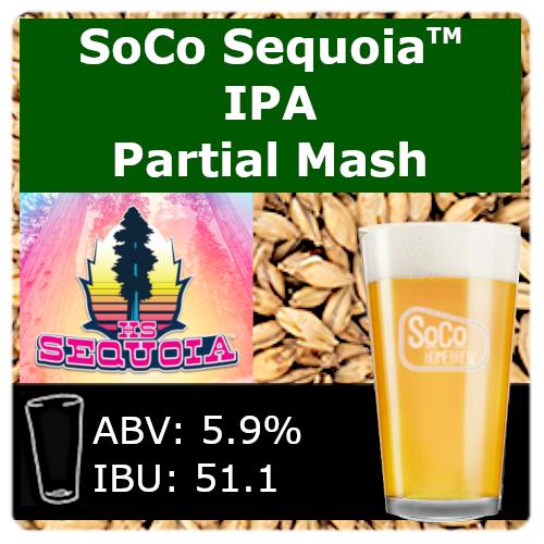 SoCo Sequoia™ IPA - Partial Mash