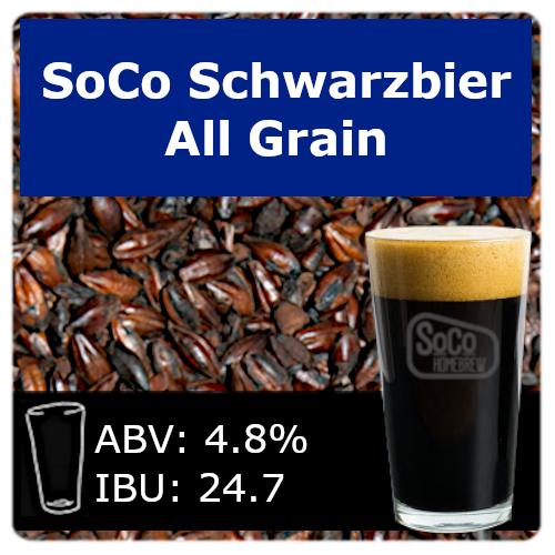 SoCo Schwarzbier - All Grain