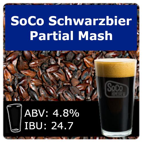 SoCo Schwarzbier - Partial Mash