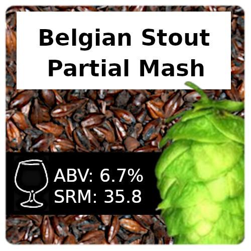 SoCo - Belgian Stout - Partial Mash
