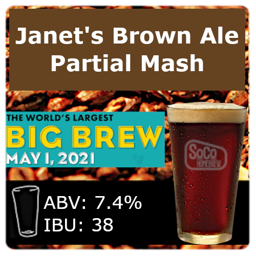 Janet's Brown Ale - Partial Mash