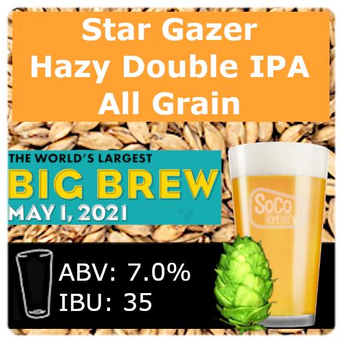 Star Gazer Double IPA - All Grain