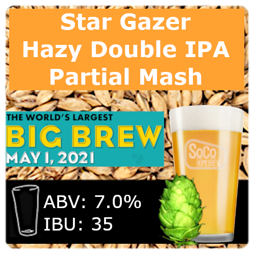 Star Gazer Double IPA - Partial Mash