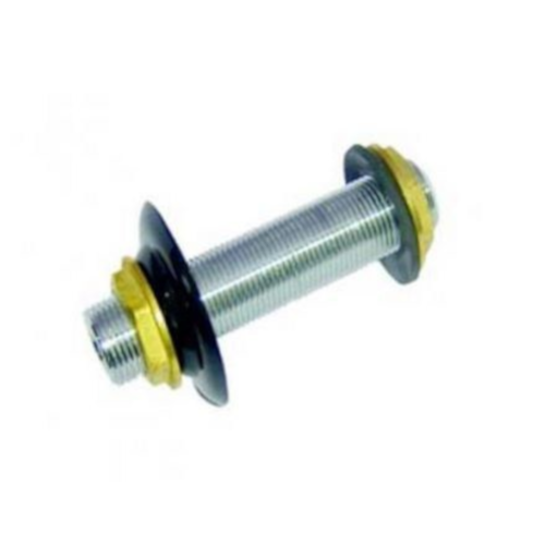 """Stainless Steel 4"""" Back Wall Coupling for Jockey Box"""