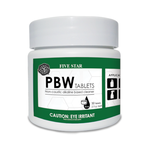 PBW Tablets 2.5 Gram- 30 Count