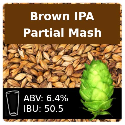 SoCo - Brown IPA - Partial Mash