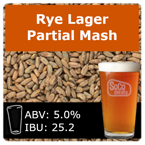 SoCo Rye Lager - Partial Mash
