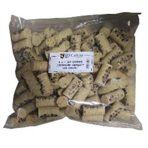 Premium Wine Corks - 9 x 1 3/4 - 100 Bag