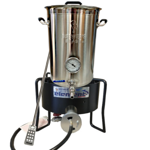 Brewer's Beast 8 Gallon Kettle & Element Burner Kit