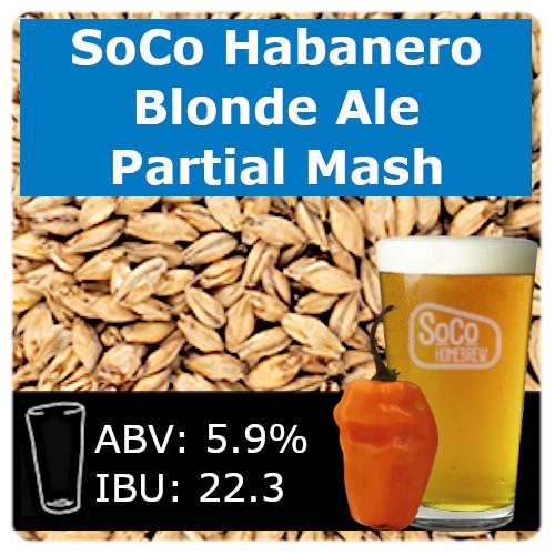 SoCo Habanero BBQ Blonde Ale - Partial Mash