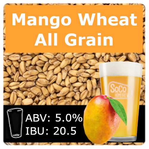 SoCo Mango Wheat Ale - All Grain