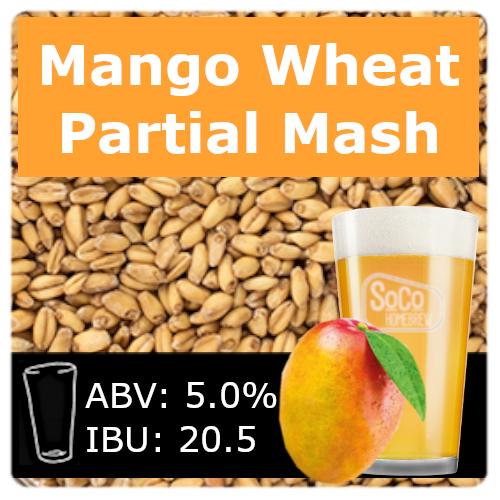 SoCo Mango Wheat Ale - Partial Mash