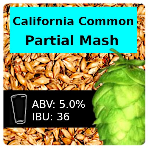 SoCo - California Common Steam Beer - Partial Mash