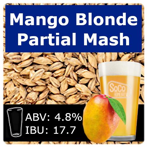 SoCo Mango Blonde Ale - Partial Mash