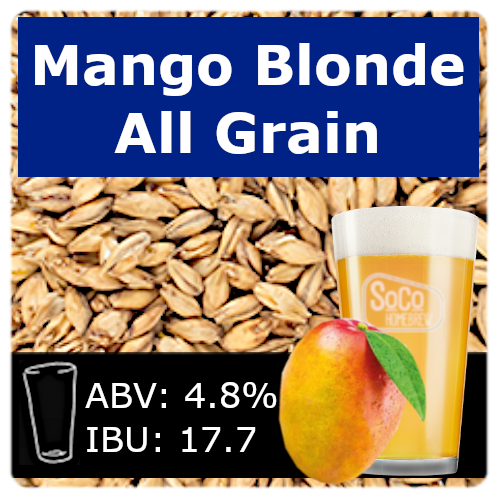 SoCo Mango Blonde Ale - All Grain