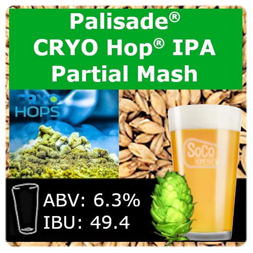 SoCo Palisade® Cryo Hop® IPA - Partial Mash