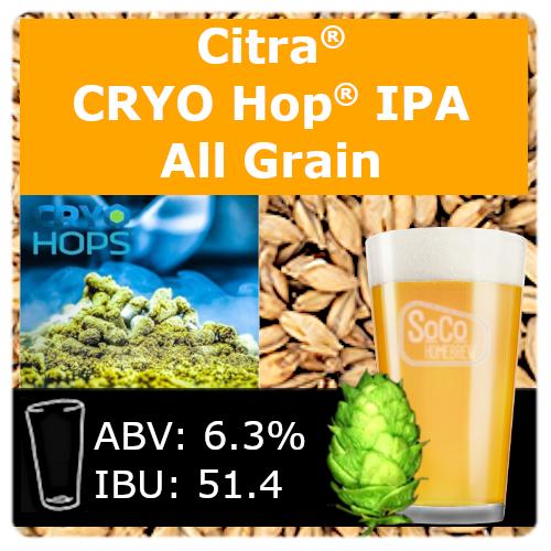 SoCo Citra® Cryo Hop® IPA - All Grain