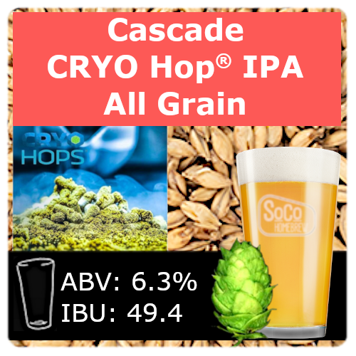 SoCo Cascade Cryo Hop® IPA - All Grain