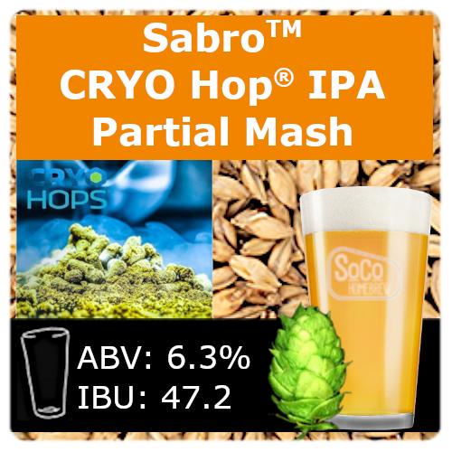 SoCo Sabro® Cryo Hop® IPA - Partial Mash