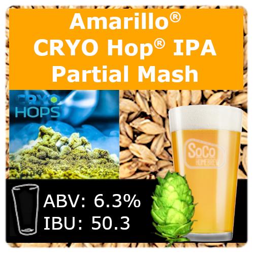 SoCo Amarillo® Cryo Hop® IPA - Partial Mash