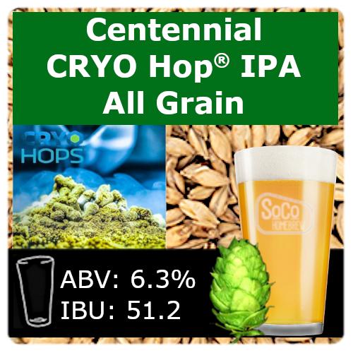 SoCo Centennial Cryo Hop® IPA - All Grain