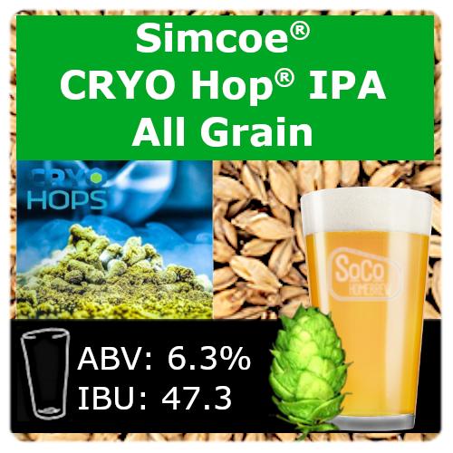 SoCo Simcoe® Cryo Hop® IPA - All Grain