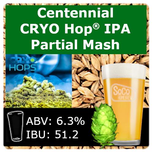 SoCo Centennial Cryo Hop® IPA - Partial Mash
